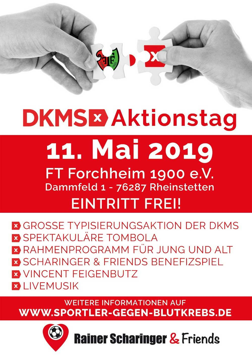 DKMS Aktionstag bei FT Forchheim 1900 e.V.